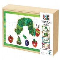 Eric Carle - Very Hungry Caterpillar 4 in 1 Wooden Puzzles