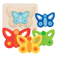 GOKI - Layer Butterfly Puzzle