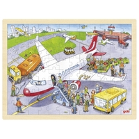 GOKI - At the Airport Puzzle 96pc