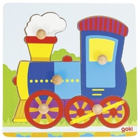 GOKI - Train Lift-out Puzzle 5pc