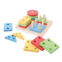 Bigjigs - First Four Shape Sorter
