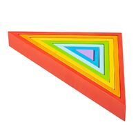 Bigjigs - Wooden Stacking Triangles