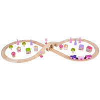 Bigjigs - Fairy Figure of Eight Train Set 40pc