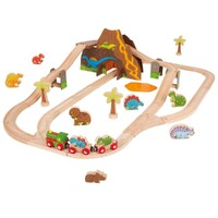 Bigjigs - Dinosaur Train Set - 49pcs