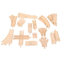 Bigjigs - Low Level Track Expansion Pack - 25pcs