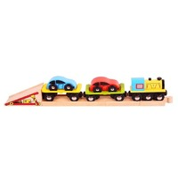Bigjigs - Car Transporter Train