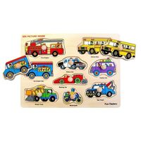 Fun Factory - Vehicles Knob Puzzle