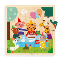 Djeco - Happy Wooden Puzzle 25pc