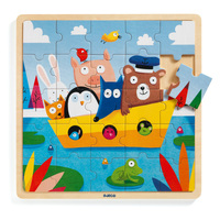 Djeco - Boat Wooden Puzzle 25pc