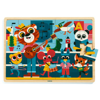 Djeco - Music Wooden Puzzle 35pc