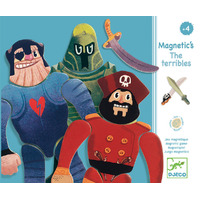 Djeco - The Terribles Wooden Magnetics