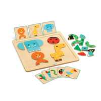 Djeco - GeoBasic Wooden Magnetic Board