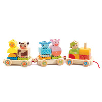 Djeco - Creaferme Pull Along Tractor