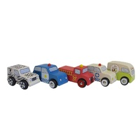 Discoveroo - Emergency Car (set of 5)