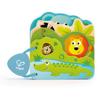 Hape - Baby's Wild Animal Book