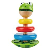 Hape - Mr Frog Stacking Rings