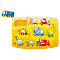 Hape - Construction Site Peg Puzzle