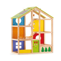Hape- All Seasons Dollhouse