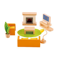 Hape- All Seasons Dollhouse Family Media Room