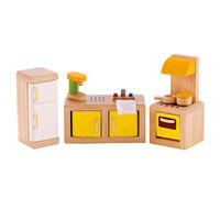 Hape- All Seasons Dollhouse Modern Kitchen