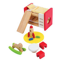 Hape- All Seasons Dollhouse Children's Bedroom