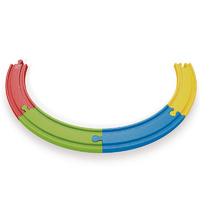 Hape - Rainbow Track Pack 4pc