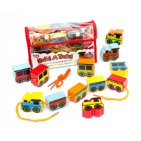 Meadow Kids - Build a Train Threading Beads