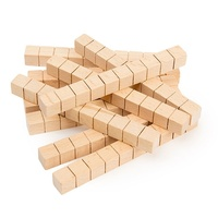 Learning Can Be Fun - Wooden Base Ten Rods Block (50 pieces)