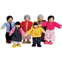 Hape - Asian Doll Family
