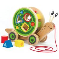Hape - Walk-A-Long Snail Shape Sorter