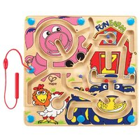 Hape - Fun Farm Magnetic Marble Maze