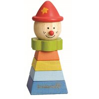 Everearth - Stacking Clown - Red Hat