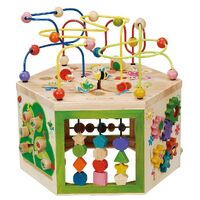Everearth - 7-in-1 Garden Activity Cube