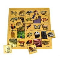 Kaper Kidz - Matching Puzzle Animal Skin
