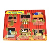 Kaper Kidz - My Happy Farm Latches Puzzle