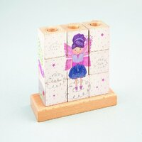 Floss and Rock - Cube Puzzle - Fairy Unicorn