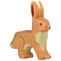 Holztiger - Hare with Upright Ears