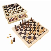 Fun Factory - Chess & Checkers Set