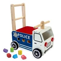 I'm Toy - Walk and Rider Police Car Sorter
