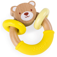 Janod - Baby Pop Bear Rattle