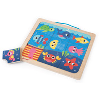 Janod - Happy Fish Magnetic Puzzle