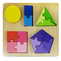 Kiddie Connect - Shape Fraction Puzzle