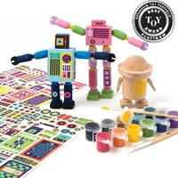 Kid Made Modern - Wooden Robot Kit