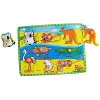 Fun Factory - Australian Animals Peg Puzzle