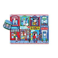 Fun Factory - Our Neighbourhood Peg Puzzle