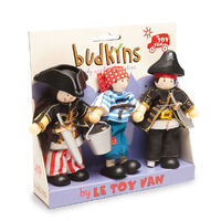 Le Toy Van - Budkins Pirate Triple Pack