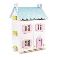 Le Toy Van - Blue Bird Cottage Doll House