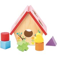 Le Toy Van - Petilou My Little Bird House Shape Sorter