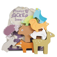 Le Toy Van - Petilou Forest Stacking Animals