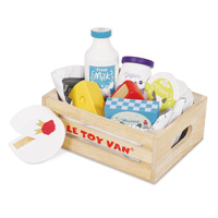 Le Toy Van - Eggs & Dairy in a Crate